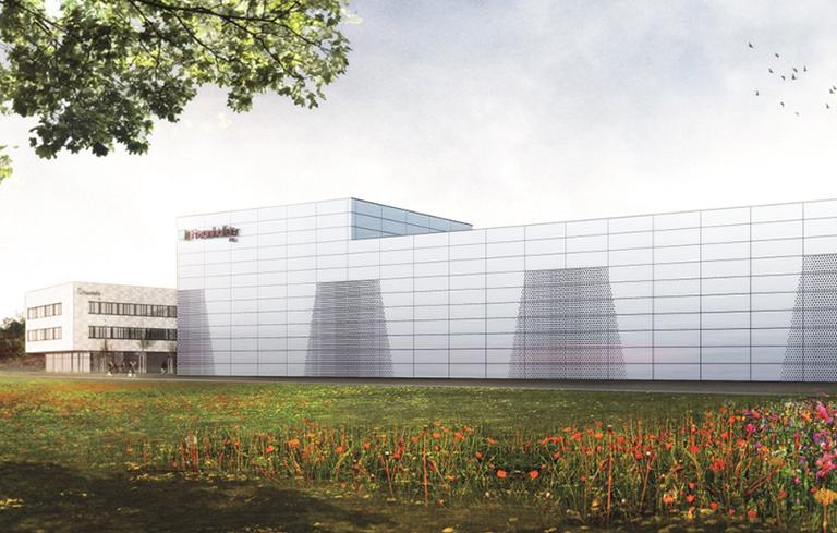 Bild des Fraunhofer Firmengebäudes