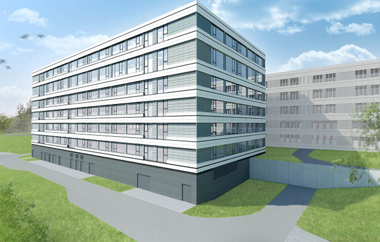 Bild der Erweiterung der Klinik Naila